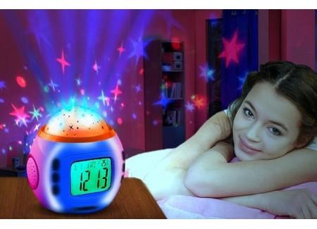 3465a075eb7 Äratuskell termomeetri ja tähistaeva projektorigaÄratuskell termomeetri ja  tähistaeva projektoriga