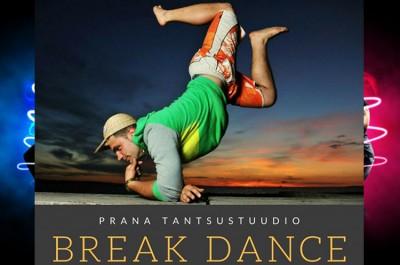 Break Dance в танцевальной студии «PRANA».