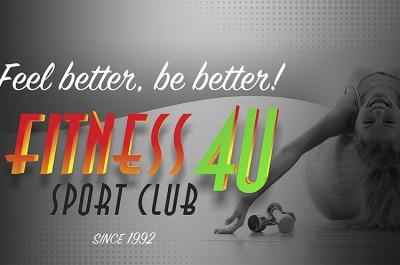 «Fitness 4U». Приходи тренироваться в Пирита!