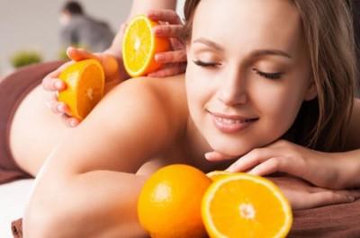 Массаж с апельсином в салоне Dareia!