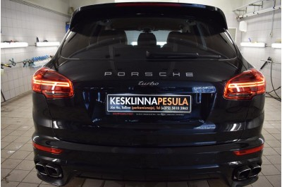 Kesklinna Autopesula - Põhjalik kolmeetapiline pesu autole.