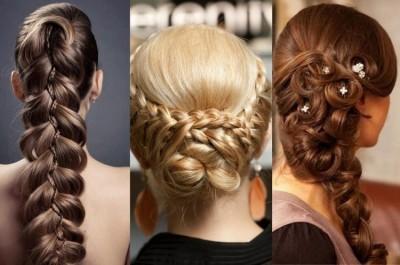 Салон красоты Posh предлагает вам прическу в виде праздничной косы