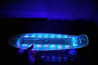 Rulalaud LED valgustusega.