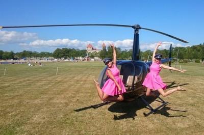 Lend helikopteriga