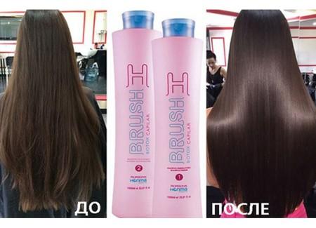 Магический эффект ботокса на волосах!