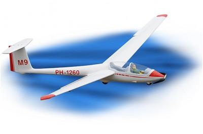 Высший пилотаж на планере с инструктором. Сертификат для полёта.